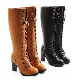 Free Shipping Women's Sexy Elegant Overknee Boots, High-heeled Ladies' Thigh-high Boots