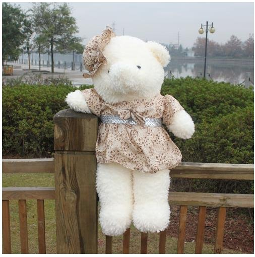 1196 Plush Bear Stuffed Toy 90cm Plush Animal Toy Plush Toys Free Shipping