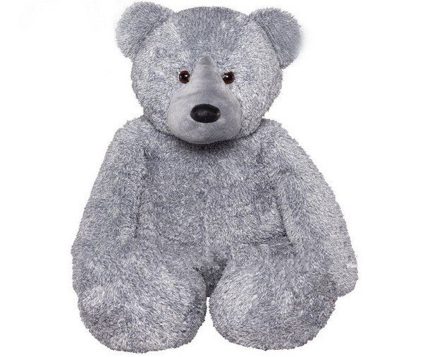 1.3m Gray Colors Big Stuffed Bears Large Animals PP Cotton Christmas Gifts Plush Toys