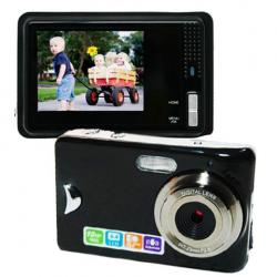 Amanda99 DC500D0 8.0MP Digital Camera with 8X Digital Zoom and 2.4-inch LCD