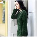 BC-S08003 Fashion Ladies' Long Sleeve Cotton Sweater