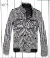 men's Lattice Thick Corduroy Coat