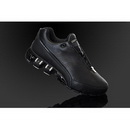 Black Leather Face Rubber Basketball Men's Bowling Shoes