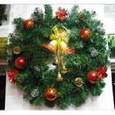 Homemade Christmas Wreath & Garland