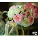 Bridesmaid Wedding Bouquets / Artifical Flowers / Wedding Favors