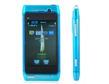 """3.0"""" TFT Touch Screen Quad Band Dual SIM Dual Standby Cell Phone with TV FM Bluetooth (Blue)"""