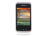 "3.0"" TFT Touch Screen Quad Band Quad SIM Tri-Standby Cell Phone with TV FM Java Bluetooth (Orange)"