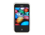 Quad-band FM Touch Screen Dual Sim Standby Cell Phone (Black)
