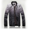 Amanda99 New Arrival Fashion and Laconic and Mix-Matched Style Color Gradient Pattern Jacket (Grey Only Has M Yardage)